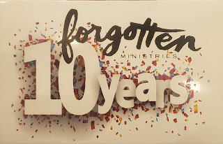 The 10th Anniversary of Forgotten Ministries, Enid