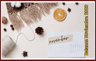 balance mensual del blog