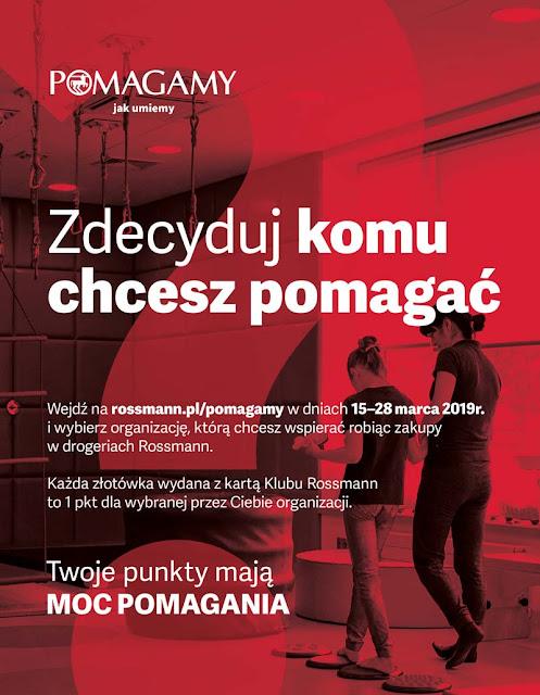 Pmagamy jak umiemy - Trzecia edycja akcji Drogerii Rossmann info prasowe