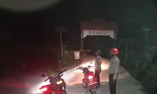 Kanit Sabhara Polsek Curio Tingkatkan Kamtibmas Dengan Galakkan Patroli Malam Hari