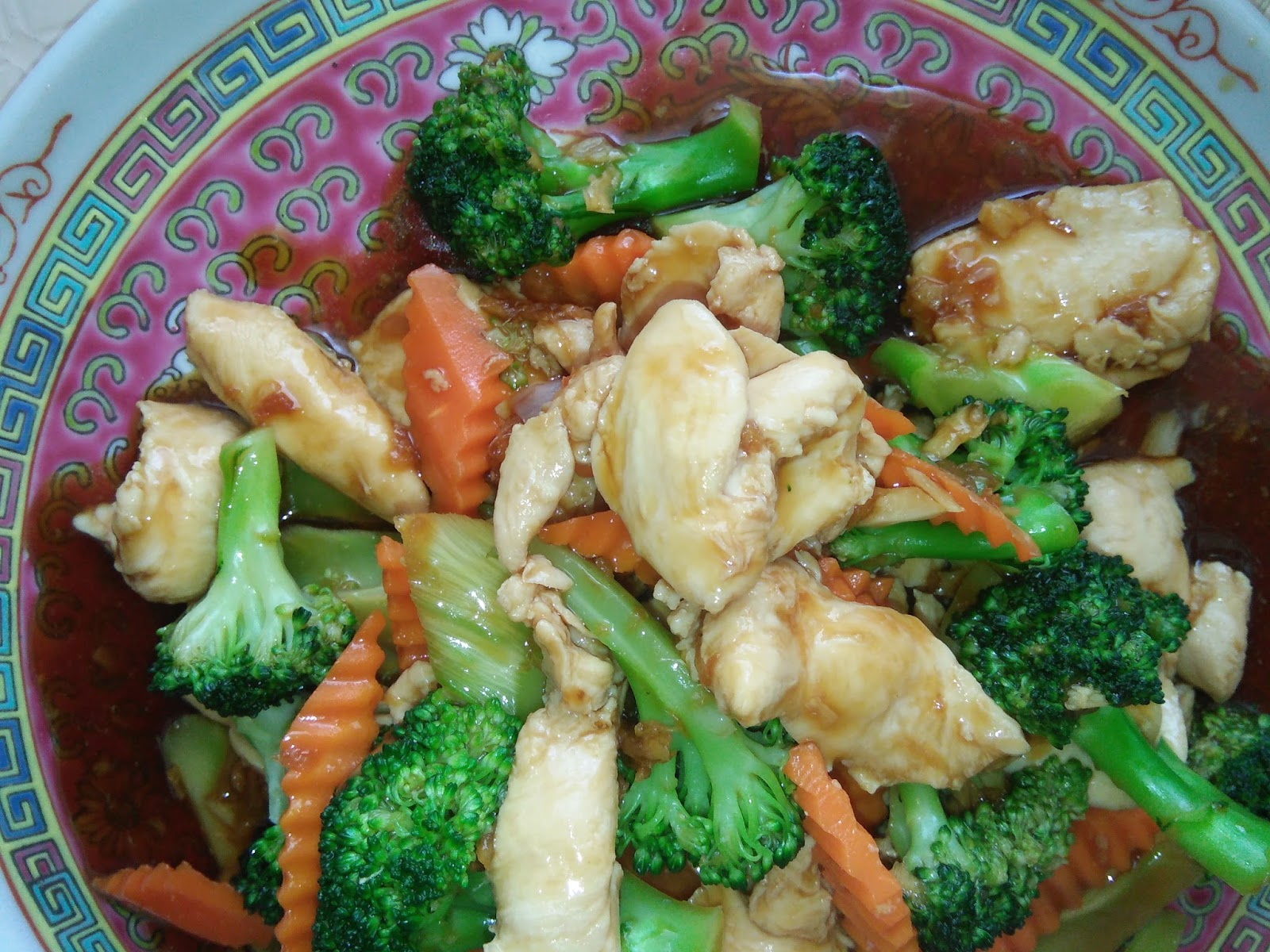 Stir Fry Broccoli With Chicken