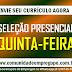 SELEÇÕES PRESENCIAIS NESSA QUINTA-FEIRA PARA ATUAR NO POLO AUTOMOTIVO DE GOIANA