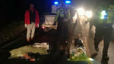 Diduga Korban Tabrak Lari, Satu Warga Tebingtinggi Tewas di Jalan Lintas Siantar