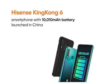 هاتف Hisense king kong 6
