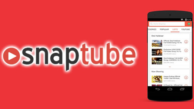 SnapTube Mobile Android App And Features