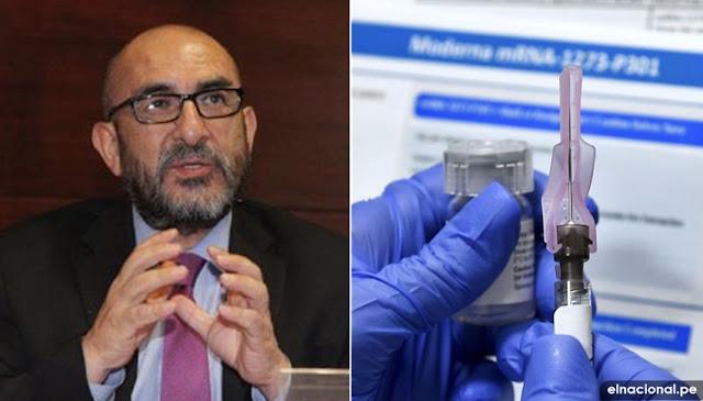 El Dr. Elmer Huerta, se ofreció voluntario para probar la vacuna de Moderna Therapeutics de Estados Unidos.