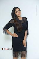 Telugu Actress Karunya Chowdary Latest Stills in Black Short Dress at Edo Prema Lokam Audio Launch .COM 0042.JPG