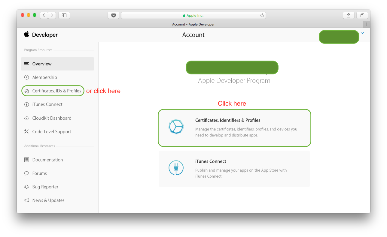 Create Developer Id Certificate Apple Iosdevcenter