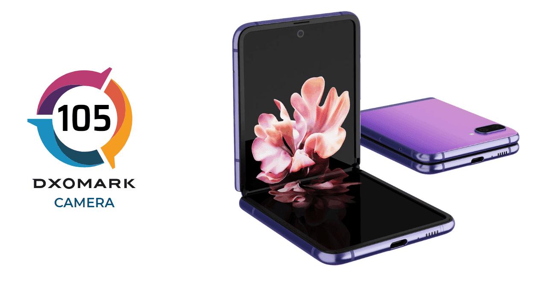 حصل Samsung GALAXY Z FLIP على 105 نقطة في اختبار DXOMARK