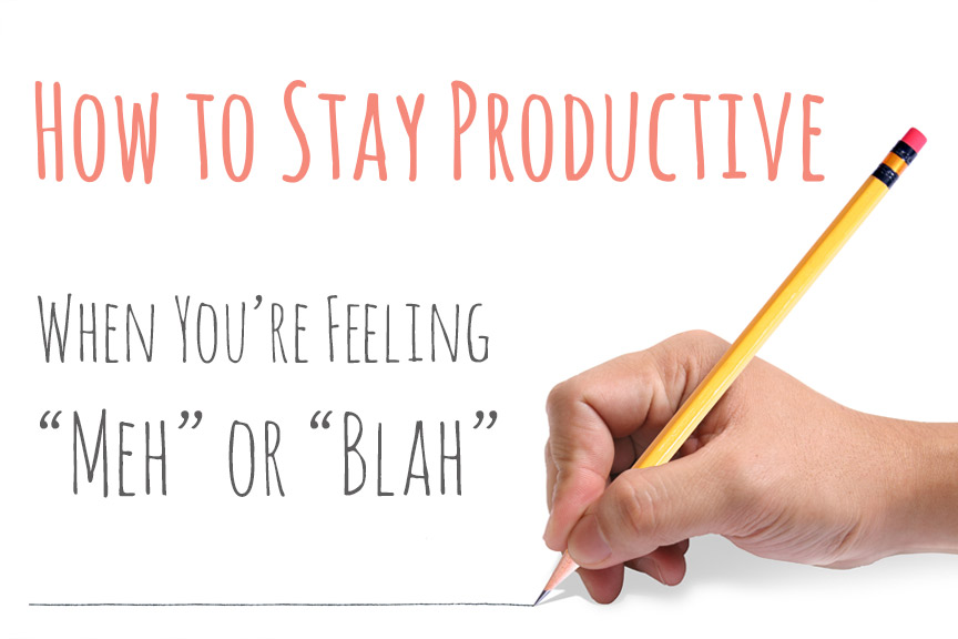 How to Stay Productive Study Tips