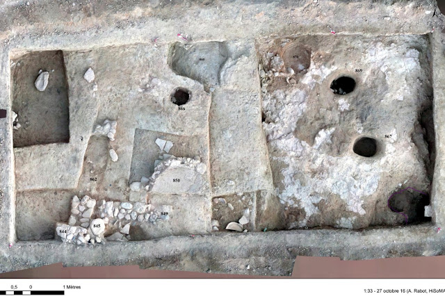 Completion of the 2016 archaeological excavations at Kition