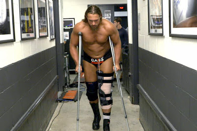 Big Cass Enzo Injury Raw Street Fight ACL