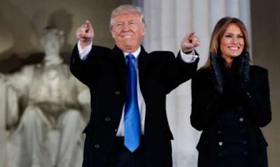 Trump Bersumpah Satukan Bangsa
