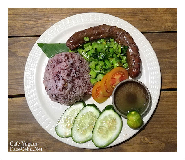 Yagam Sausage with Red Rice