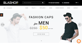 Blashop E-Commerce Blogger Template
