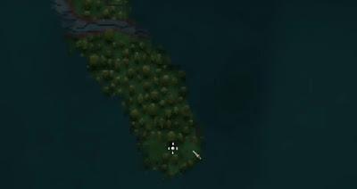 Crypt Location Map, Swamp, Valheim