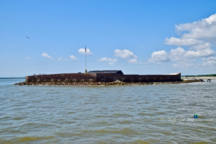 10 ThingsTo  Do In Charleston: #3 - Take a harbor cruise and sail past Ft. Sumter | Ms. Toody Goo Shoes #Charleston