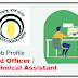 Job Profile | Field Officer / Technical Assistant- Tobacco Board of India