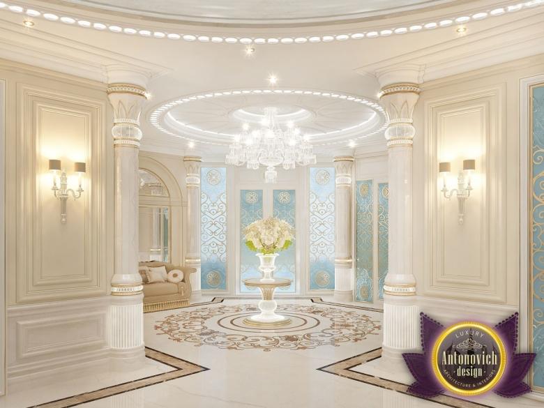 Foyer Decor Uae : Kenyadesign luxury villa design in dubai from katrina