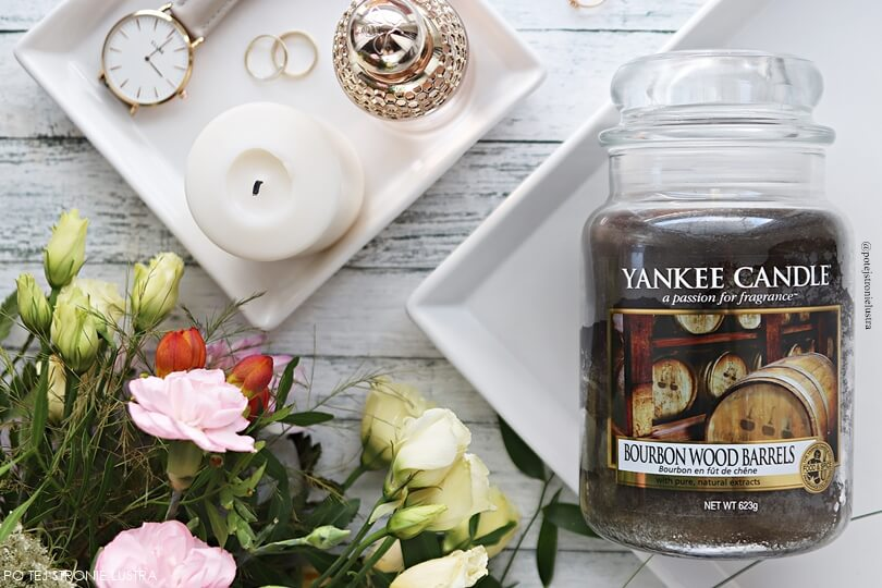 świeca yankee candle bourbon wood barrels