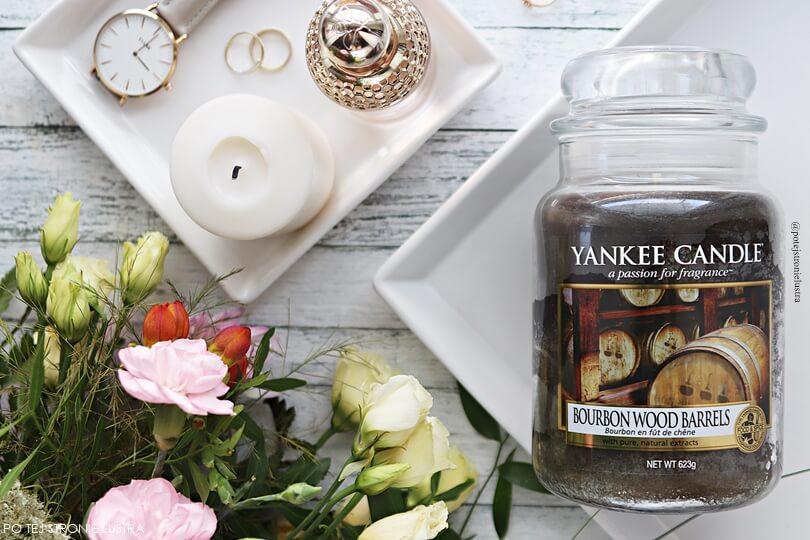 świeca yankee candle bourbon wood barrels