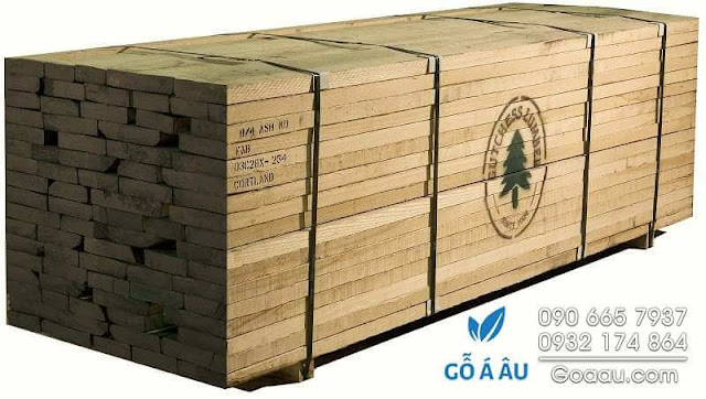Kiện gỗ Tần Bì (gỗ Ash) nhập khẩu