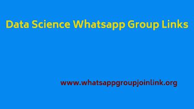 data science whatsapp group links