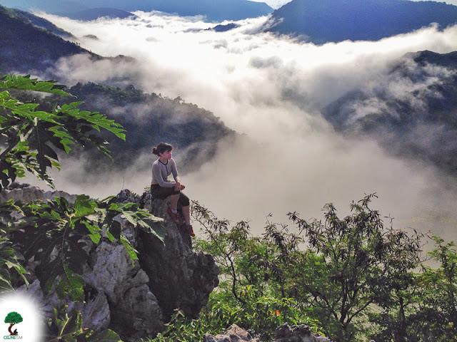 sea of clouds near manila