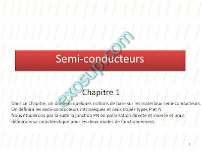 cours d'électronique de base smp s4 FSR RABAT