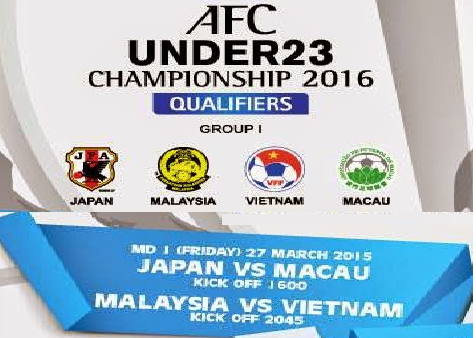 Malaysia B22 Vs Vietnam 27 Mac 2015