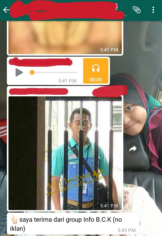 Dia Bukan Perompak Dia Pekerja UGS Network Service ( M) Sdn Bhd
