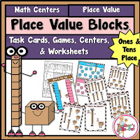 Place Value Blocks up to Tens Place
