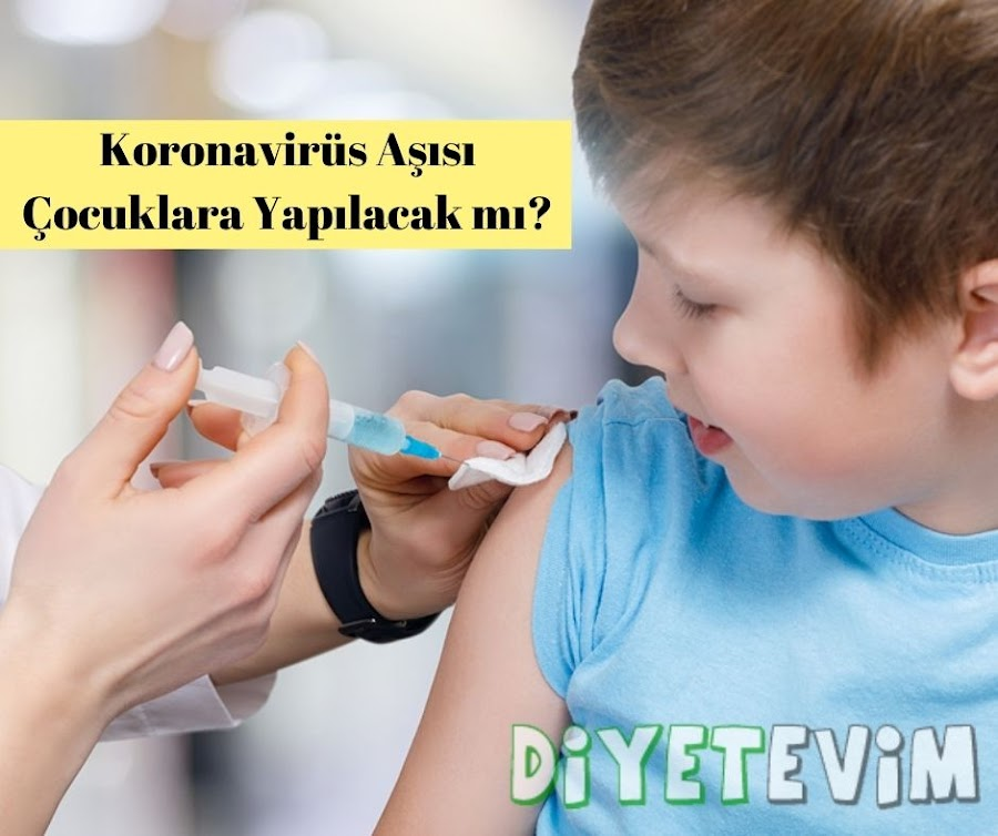 çocuklara koronavirüs aşısı