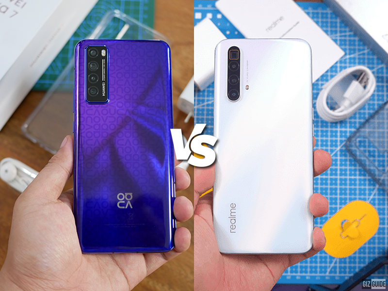 Huawei nova 7 5G vs realme X3 SuperZoom Specs Comparison