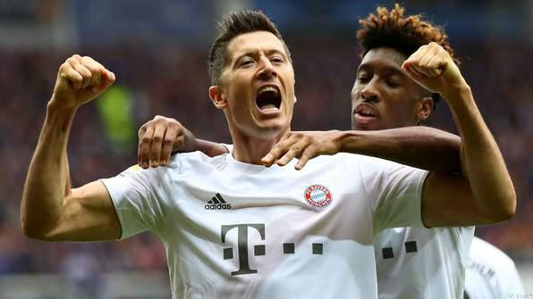 Lewandowski Sets All Time Bundesliga Goal Record