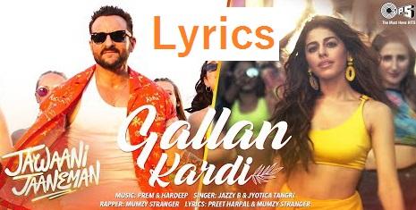 Gallan-Kardi-Lyrics
