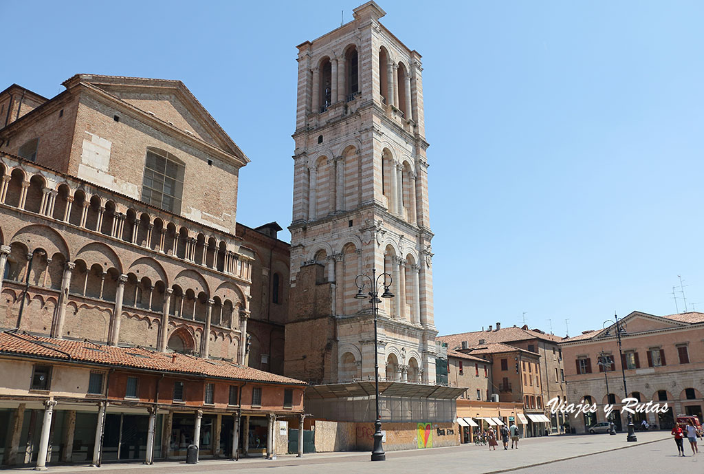 Campanile de la catedral de Ferrara