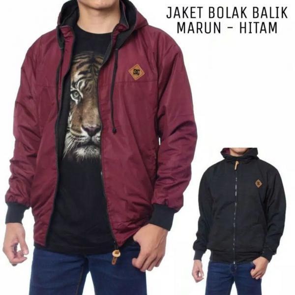 Jaket DC Bolak Balik XL AC-005