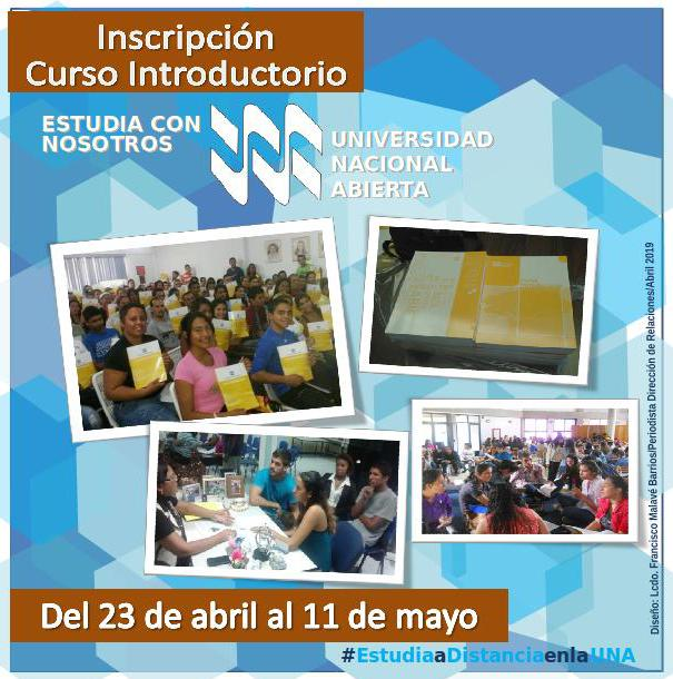 CURSO INTRODUCTORIO LAPSO 2019-1