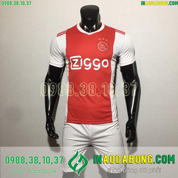 Áo bóng đá câu lạc bộ Ajax 2020 màu đỏ