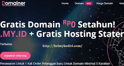 domain gratis domainer