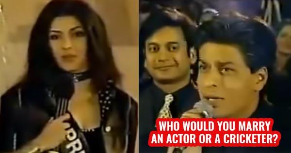 priyanka chopra shah rukh khan rare old video