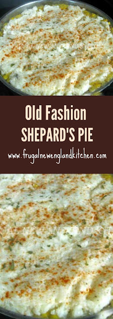 Shepard's Pie Recipe with Stout