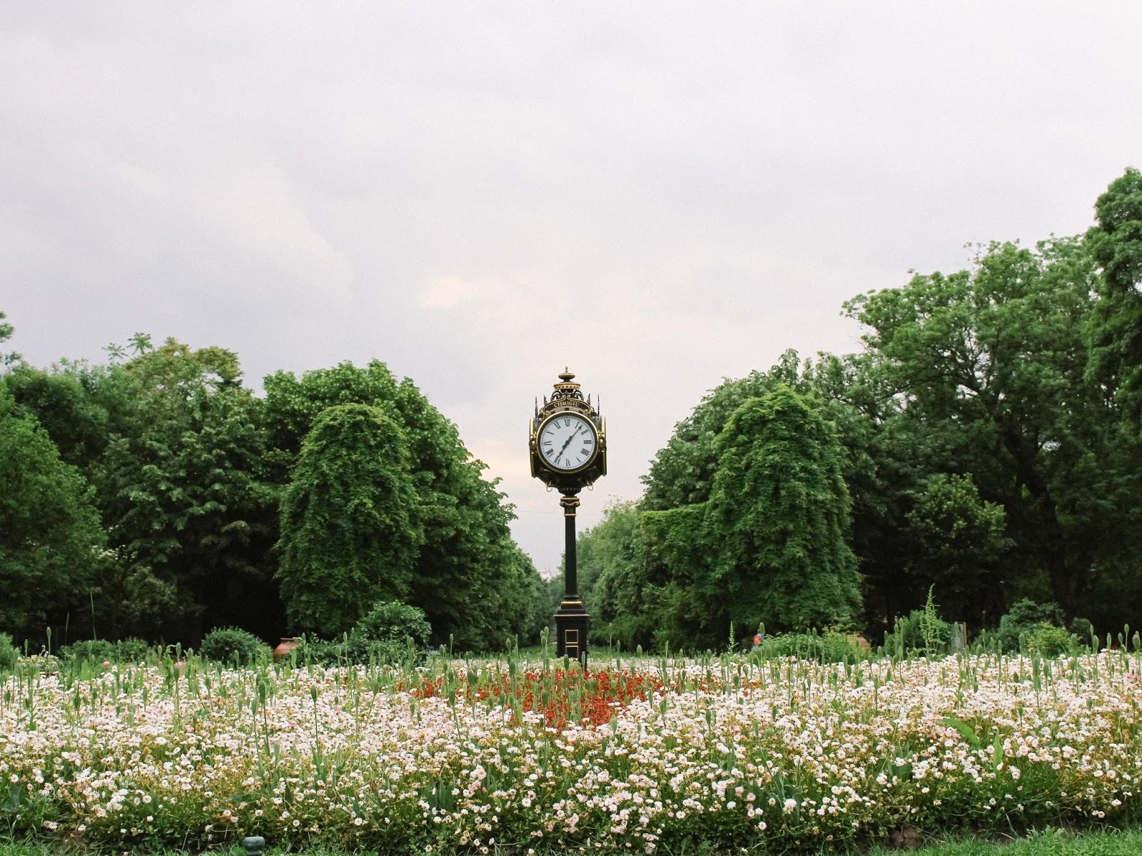 Cismigiu Gardens in Bucharest