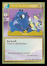 My Little Pony The Fun Has Been Doubled! GenCon CCG Card