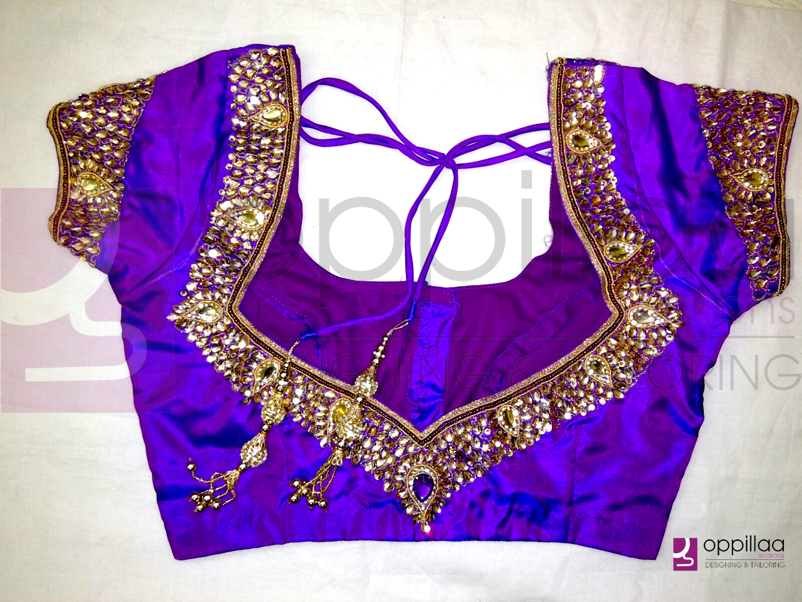 Ladies Blouse Designs India 112