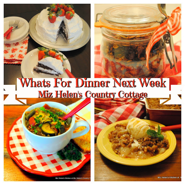 Whats For Dinner Next Week,12-15-19 at Miz Helen's Country Cottage