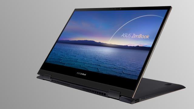 Layar OLED 4K Asus Zenbook Flip S