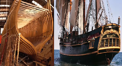 10 Kapal Kayu Raksasa Spektakuler dan Terkenal di Dunia