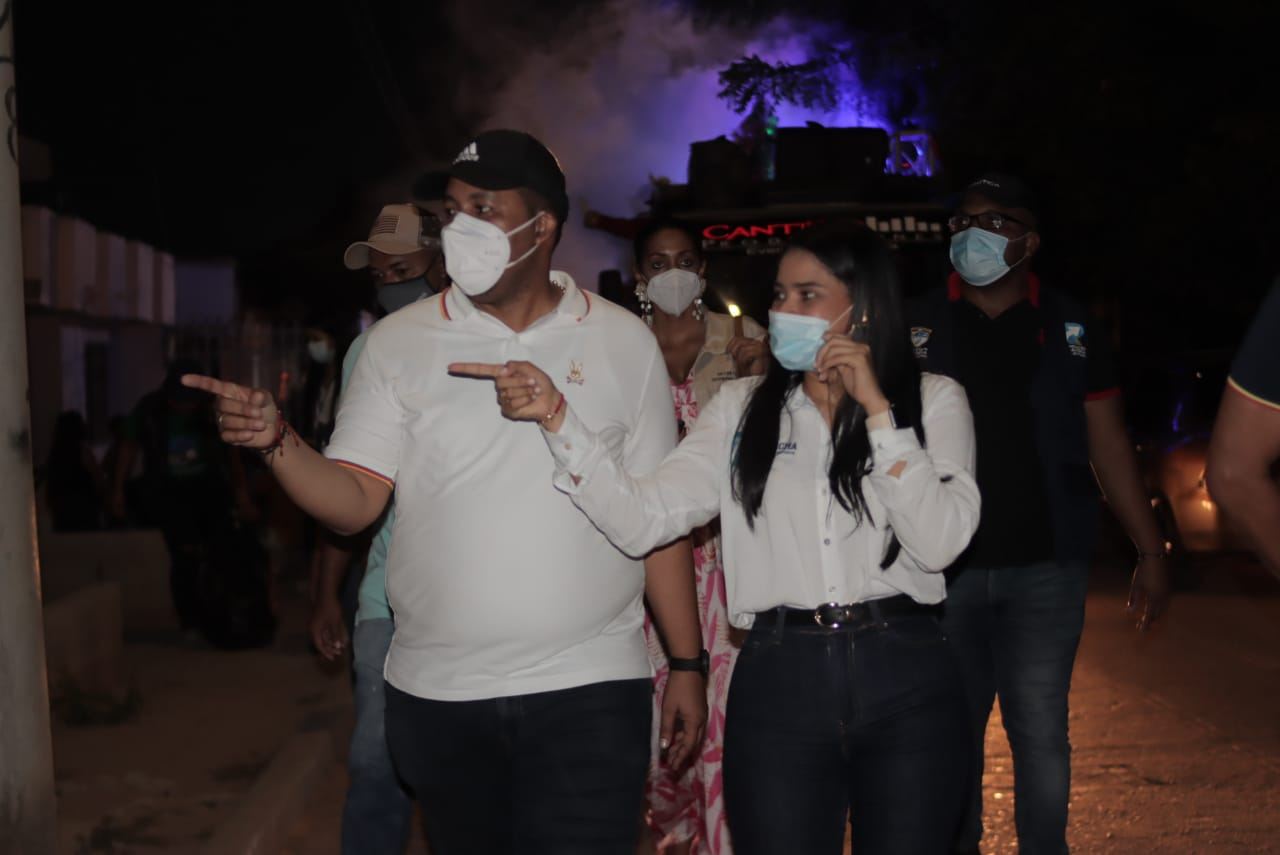 hoyennoticia.com, La 'Ruta Navideña' se tomó los hogares riohacheros